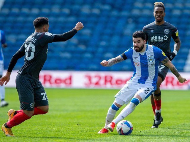 DOUBT: Huddersfield Town full-back Pipa