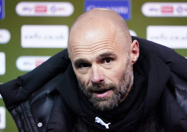 Rotherham United manager Paul Warne: Missing fans.