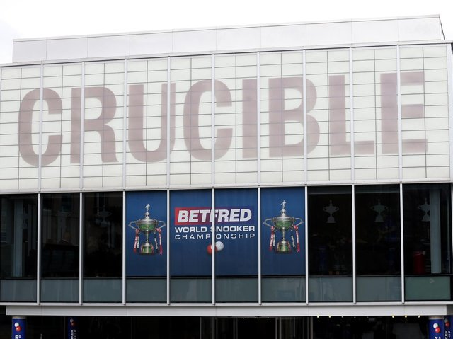 The Crucible will be the first venue to welcome back fans in the UK in 2021.
