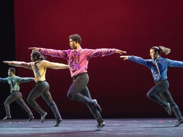 The Acosta Dance Company in action at the Royal Albert Hall. (Credit: Alastair Muir).