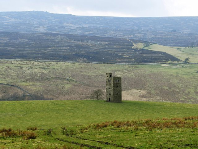 Boots Folly, which overlooks Bradfield Moor and Strines Reservoir. (Picture: Jonathan Gawthorpe).