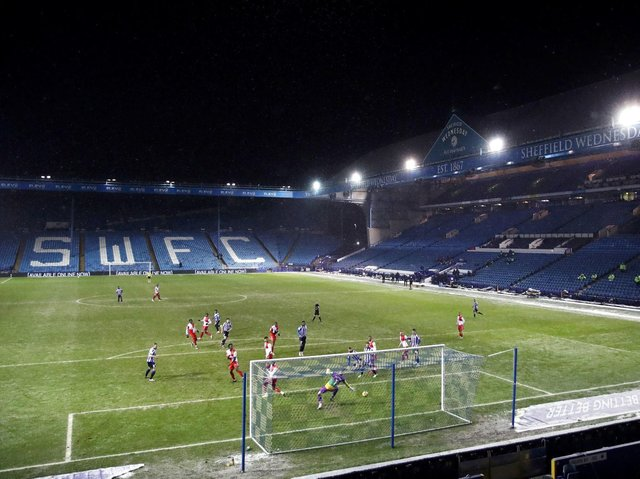 EMBARGO: Sheffield Wednesday are not allowed to sign players at present because of the delay in filing their accounts