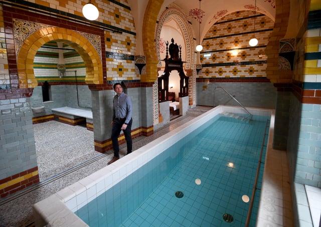 The newly-restored Turkish Baths remain a focal point of Harrogate. Photo: Simon Hulme.