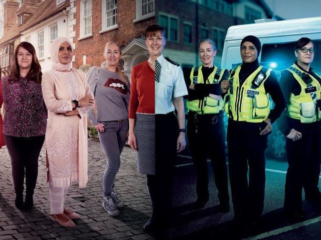North Yorkshire Police Chief Constable Lisa Winward, along with PC Charlotte Wood, PC Pauline Law and call handler Katharine Johnson, are just a few of the force's female members who will appear in the 10-part series Women in the Force on UKTV's W Channel every Thursday.