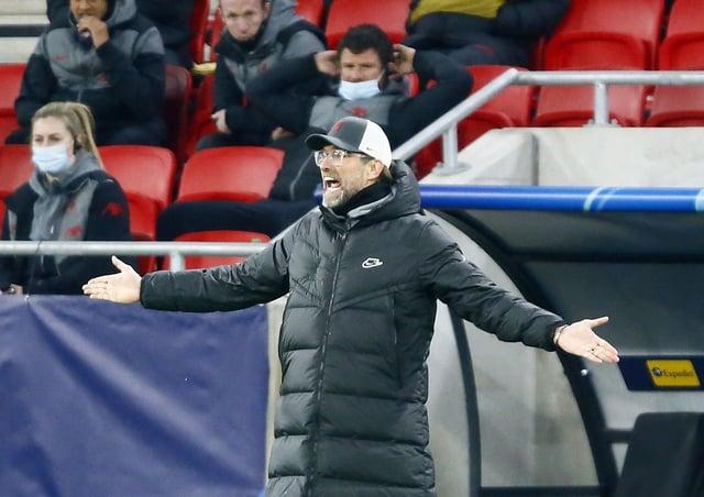 Liverpool manager Jurgen Klopp. Picture: Trenka Attila/PA