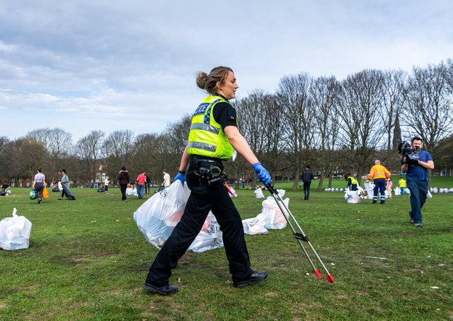 he amount of litter left on Woodhouse Moor after the easing of lockdown continues to prompt much debate.