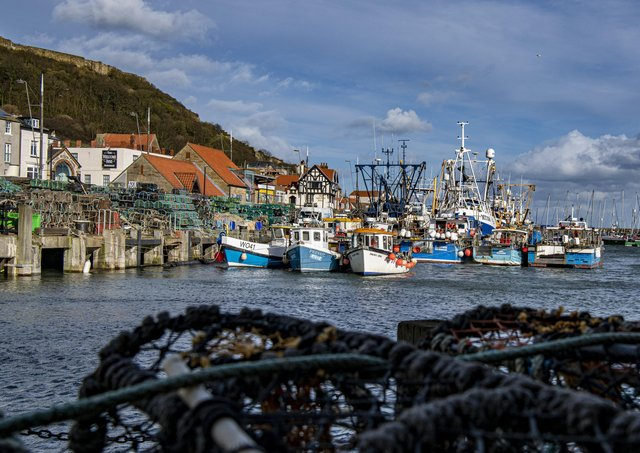 Scarborough's harbour - how will it be funded following North Yorkshire's local government shake-up? Photo: Tony Johnson.