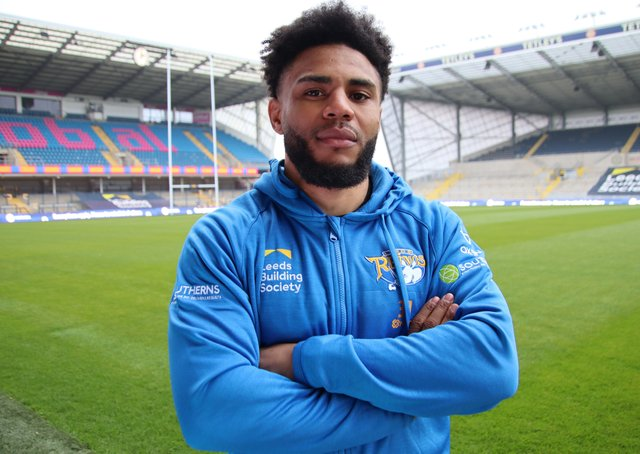 Former St Helens and Rugby Union star Kyle Eastmond might just debut for Leeds Rhinos against his former Rugby Leaue club. Picture: Phil Daly/Leeds Rhinos/SWPix.com.
