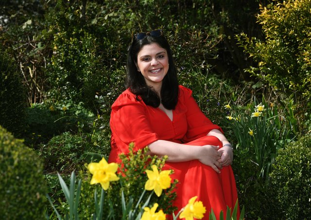 Food writer Sabrina Ghayour pictured at home near York Picture : Jonathan Gawthorpe