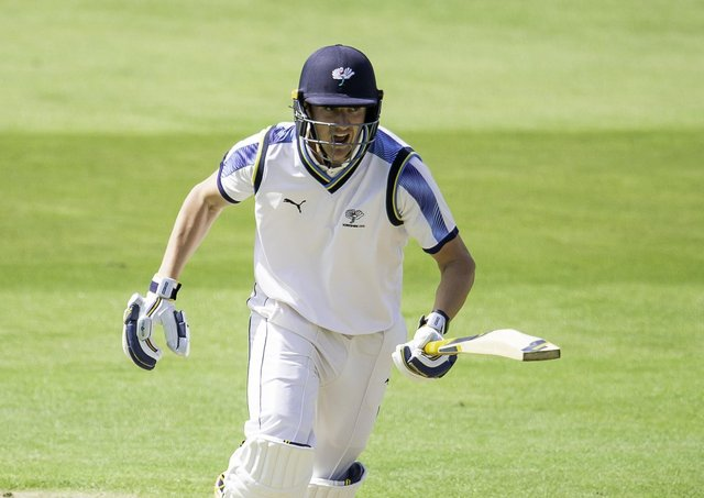 Extra string to bow: Yorkshire's Tom Kohler-Cadmore.