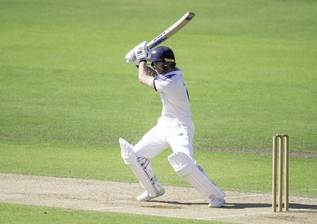 Top bat: Yorkshire's Adam Lyth. Picture: Allan McKenzie/SWpix