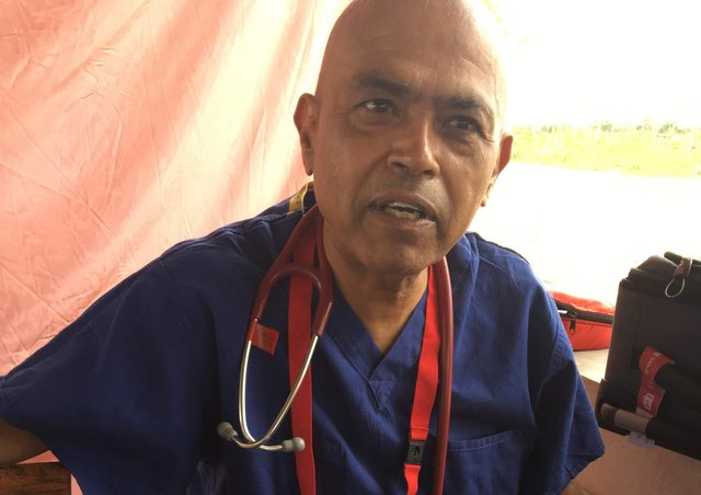 Retired West Yorkshire GP Dr Dhirubhai Mistry was one of the first people to benefit from the new prostate cancer test