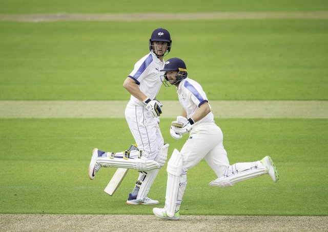 Yorkshire's opening batsmen Tom Kohler-Cadmore, left, and Adam Lyth will play a key role this season. Picture by Allan McKenzie/SWpix.com