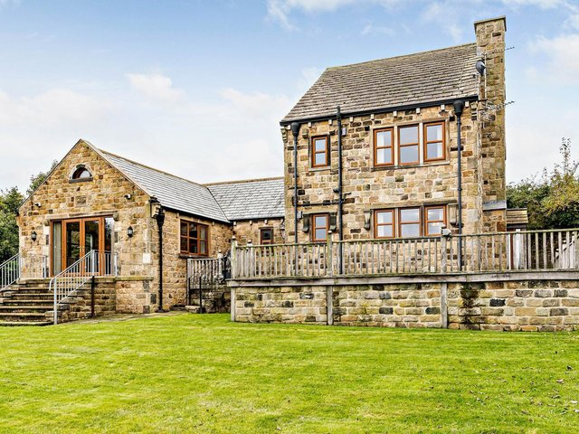 Anchor Farm, a five-bedroomed detached family house, Elmhirst Lane, Silkstone, £825,000, through Fine & Country, 01226 729009.