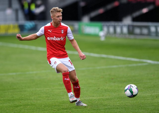 DON'T WORRY: That is the message from Rotherham United midfielder Jamie Lindsay ahead of a potentially season-defining week for the club. Picture : Jonathan Gawthorpe