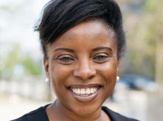 Mojisola Elufowoju, founder and artistic director of Sheffield-based Utopia Theatre.