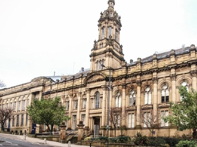 The Old Building at Bradford College