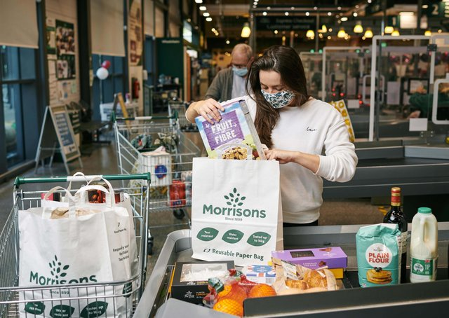 Morrisons has announced it will be the first UK supermarket to move away from plastic bags completely as it removes all plastic 'bags for life' from every store nationwide, saving 3,200 tonnes of plastic per year.  Customers will instead be able to purchase its paper bags which are reusable, recyclable, water resistant, tear resistant and can hold up to 16kg. A life cycle analysis carried out by Sheffield University has also shown that Morrisons paper bags have a lower carbon footprint than our plastic equivalent.  Paper bags will cost 30p and be available alongside other reusable options including string, jute, cotton and reusable woven bags, priced between 75p and £2.50.