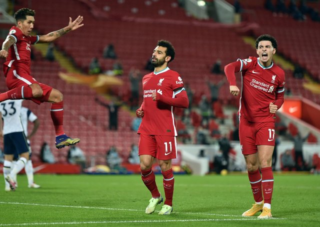 BACK ON IT: Liverpool's Mo Salah. Picture: Peter Powell/PA