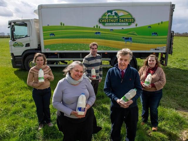 The Varley family run Chestnut Dairies
