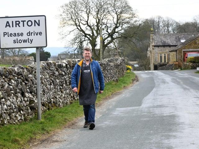 Chris Wildman near Town End Farm Shop