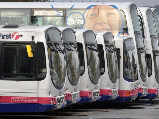 Union leaders in West Yorkshire are set to demand that the county's first directly elected metro mayor starts the process to bring buses under public control within 100 days of taking office. Stock image