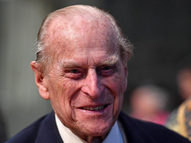 Prince Philip's death was announced earlier today. He died peacefully at Windsor Castle at the age of 99.