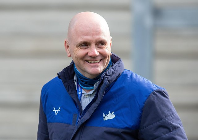 SAINTS TEST: Leeds Rhinos head coach Richard Agar takes his side to St Helens in the Challenge Cup this afternoon. Picture: Bruce Rollinson.