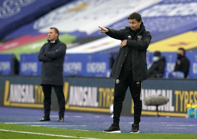 HIS OWN MAN: Sheffield United interim manager Paul Heckingbottom says he has free rein to manage as he sees fit. Picture: Andrew Yates/Sportimage