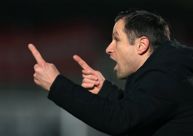 Right direction: Harrogate Town assistant manager Paul Thirlwell. Picture: Mike Egerton/PA Wire.