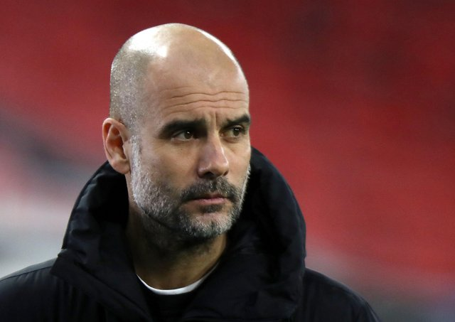 Manchester City's Pep Guardiola. Pictures: Getty Images