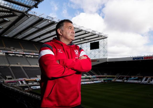 SELECTION POSERS: England head coach Shaun Wane. Picture by Alex Whitehead/SWpix.com