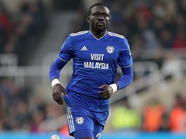 INJURY: Huddersfield Town centre-forward Oumar Nisse