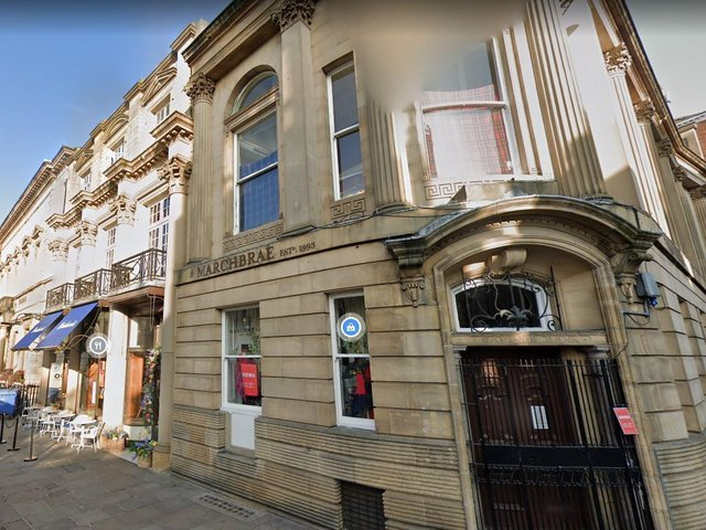 The former Carluccio's and former Marchbrae store in St Helen's Square could be turned into a hotel, restaurant and bar