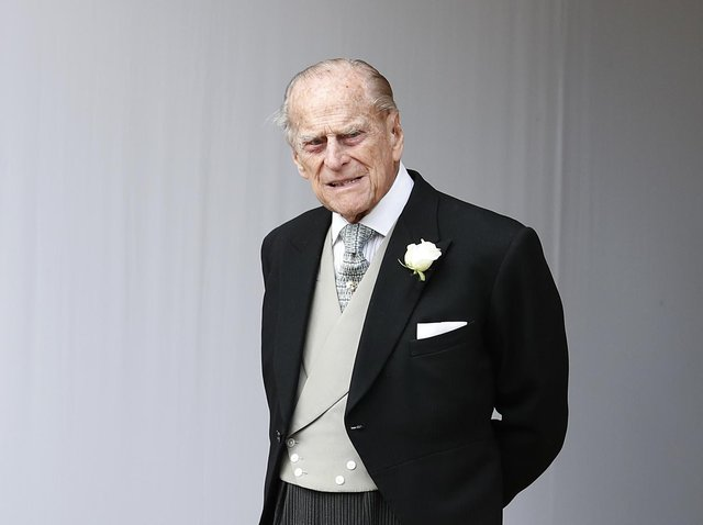 Prince Philip died at Windsor Castle this morning