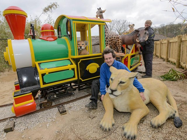 The biggest new attraction is Go Safari - a series of animal-themed rides aimed at under 12s