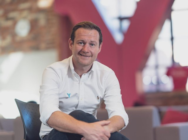 James Mason, chief executive of Welcome to Yorkshire