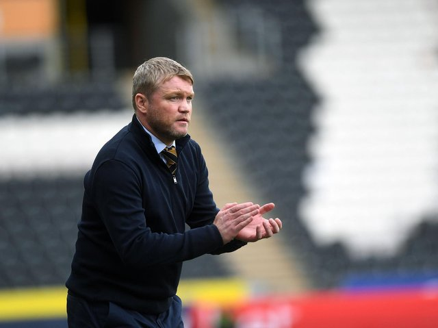 VICTORY: For Grant McCann and Hull City at Plymouth.