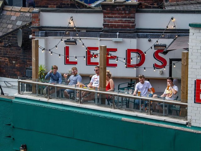 Pub gardens across Leeds and Yorkshire will reopen for outdoor drinking today