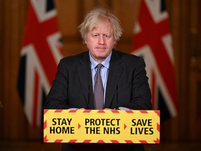 Prime Minister Boris Johnson is pictured at the Press conference in February to announce details of the roadmap out of the current lockdown. The Government has been warned another lockdown would cause catastrophic damage to Yorkshire's economy. (Photo: Getty Images.)