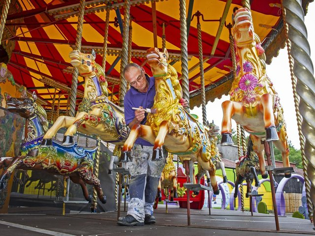 Lightwater Valley, near Ripon, is readying for its first day of pleasure-seekers on April 17 but those seeking a thrill may be disappointed as its signature attraction rollercoaster, the Ultimate, is not among those reopening immediately.