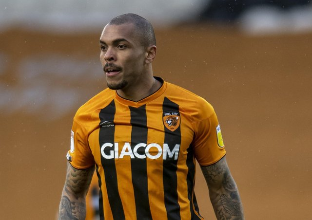 Hull City's Josh Magennis on taking a knee for Black Lives Matter. (Picture: Tony Johnson)
