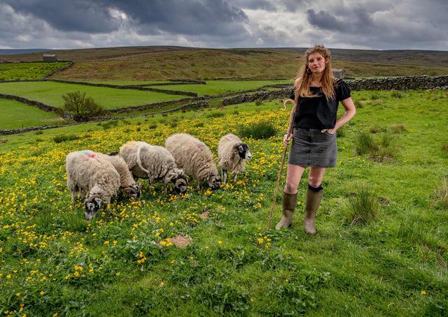 Amanda Owen is the Yorkshire Shepherdess. Photot: James Hardisty.