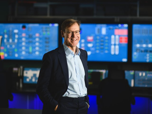Will Gardiner, chief executive officer of Drax