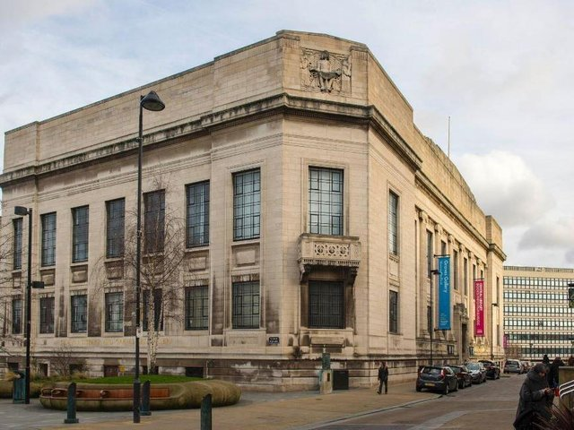 The Central Library and Graves Art Gallery in Sheffield. Picture: Dean Atkins
