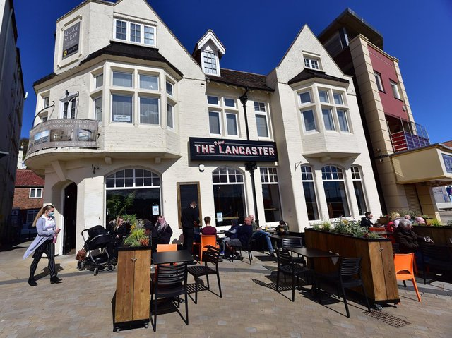 The Lancaster Pub opens up on Scarborough Seafront