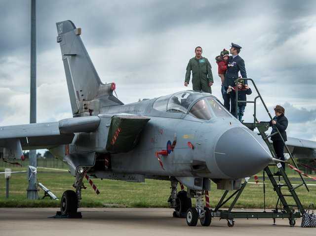 More RAF planes will be seen in the skies of North Yorkshire in April.
