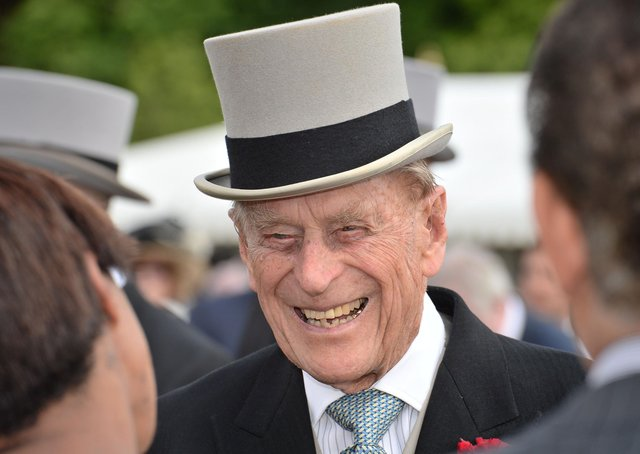 Political tributes continued to be paid to Prince Philip, pictured at a Buckingham Palace garden party.