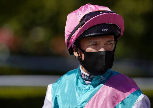 Frankie Dettori returns to competitive action at Newmarket today.
