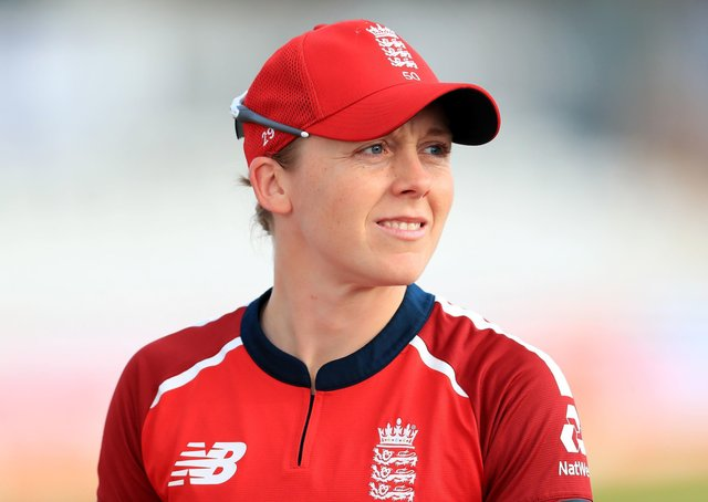 England's Heather Knight: Importance of format.
